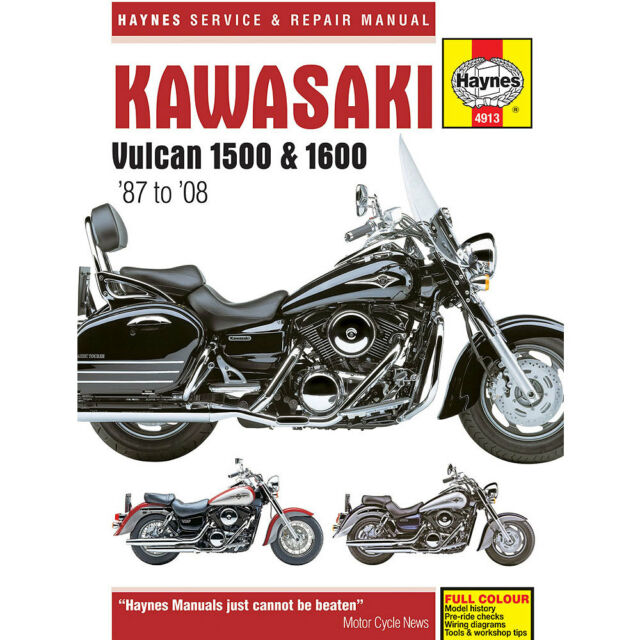 kawasaki vn 1500 d classic 1996 haynes service repair manual 4913 ebay rh ebay co uk service manual kawasaki vn 1500 service manual kawasaki vn 1500