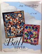 "Judy Niemeyer BALI FEVER Foundation Paper Pieced Quilt Pattern 67"" x 80"""