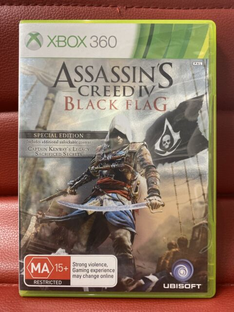 Assassins Creed IV black flag xbox 360 (works on Xbox One)