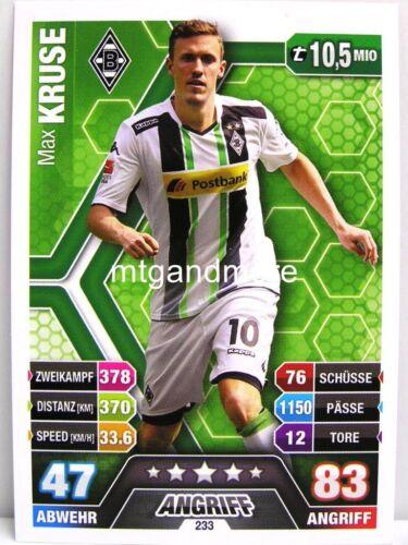 Borussia Mönchengladbach-carte choisir Match ATTAX 14//15 2014//2015