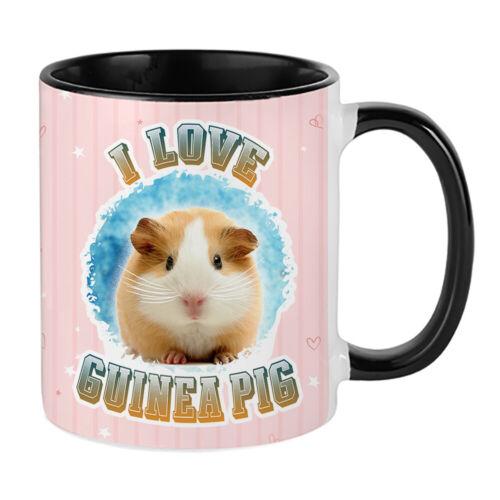 I Love Guinea Pig Animal Lover themed 11//15//14 oz Coffee Mug//Cup.
