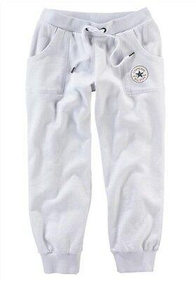 Converse Sweathose Gr.XS S NEU Damen Capri Fitness 34 Pants Jogging Laufen Weiß | eBay