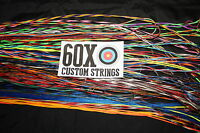 60x Custom Strings String And Cable Set For Mathews Mq 1 With 80% Cam Bow