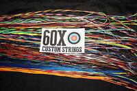 60x Custom Strings String And Cable Set For 2010 Diamond Razor Edge Bow
