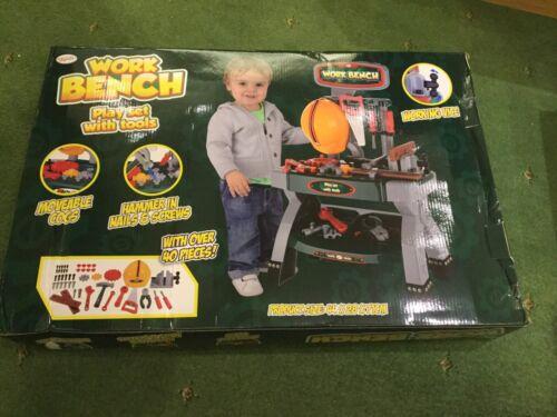 Toyrific Bambini costruzione banco di lavoro Set Gioco di Ruolo Con Strumenti