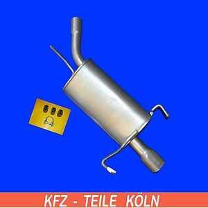 silenciador-OPEL-CORSA-C-1-4-Sistema-de-escape-Silenciador-Escape