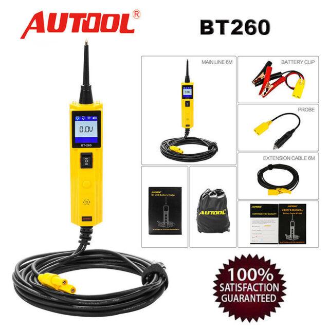 Autool BT-260 Electrical System LED Diagnostic Tool Automotive Circuit Tester