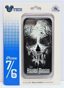low priced 4c1c6 01046 Details about Disney Haunted Mansion Skull & Hatbox Ghost Apple Iphone 7/6S  Cellphone Case NEW