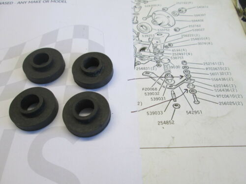 ROVER P6 2000//2200 MANUAL GEARBOX MOUNT RUBBERS GENUINE SET OF 4