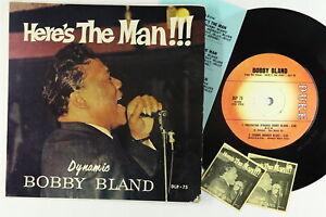 Jukebox Hard Cover EP - Bobby Bland - Here's The Man - Duke - DLP 75