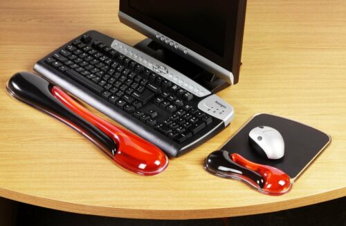 Kensington Duo Gel Welle Blau oder Rot Rauch Farbe Maus Matte Tastatur