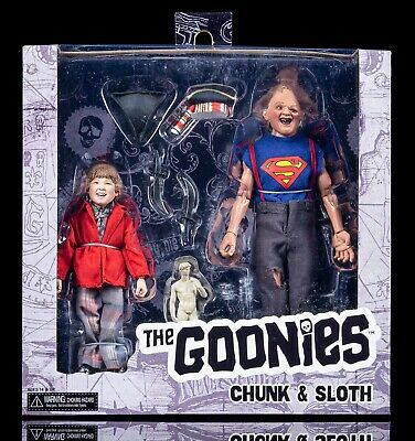 Goonies Sloth and Chunk 8-Inch Scale Clothed Action Figure 2-Pack* BRAND NEW*