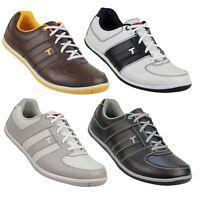 True Linkswear True Vegas Mens Spikeless Leather Golf Shoes- Waterproof
