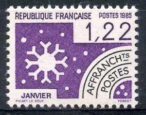 STAMP-TIMBRE-FRANCE-NEUF-PREOBLITERE-N-186-LES-MOIS-DE-L-039-ANNEE-JANVIER