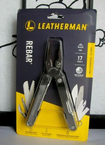 Leatherman Rebar Stainless Steel Multi-Tool with Heritage Sheath