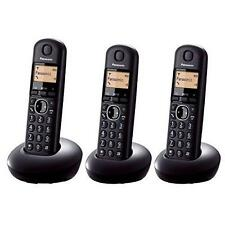Panasonic KX-TGB213EB Triple Digital Cordless Phone Long Life Battery 16Hr - New