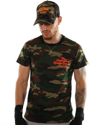 KRONK Boxing Legendary Camouflage Slimfit T Shirt