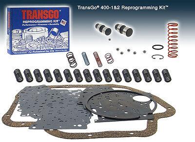 GM THM400 TH400 400 3L80 Transgo Reprogramming Shift Kit SK 400-1/&2