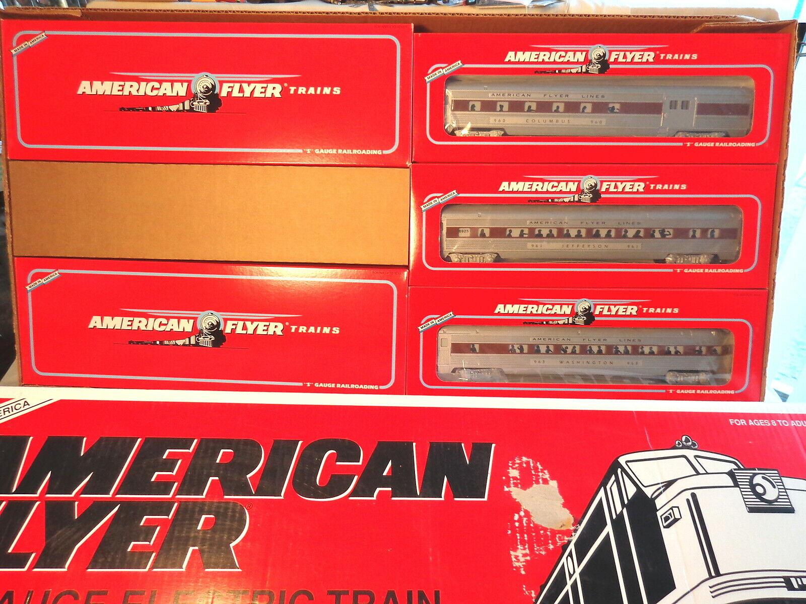 アメリカンフライヤー6 - 49606シルバーフラッシュ