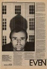 Phil Collins Genesis Interview NME Cutting 1982