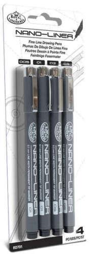 Royal /& Langnickel Nano los trazadores de líneas
