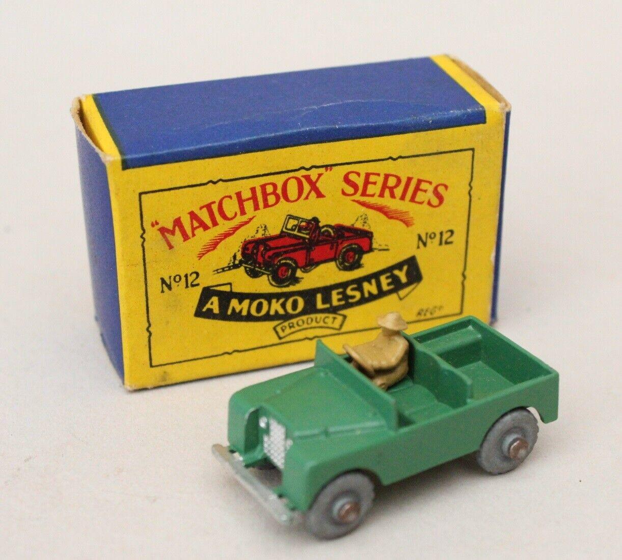 muy popular Matchbox Matchbox Matchbox Lesney MB 12 Land Rover  bienvenido a comprar