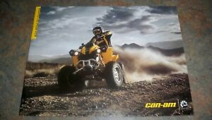 2007-BOMBARDIER-CAN-AM-QUAD-BROCHURE-WRITTEN-IN-FRENCH