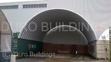 Durospan Steel 40x40x14 Metal Shipping Container Building Cover Open Ends Direct