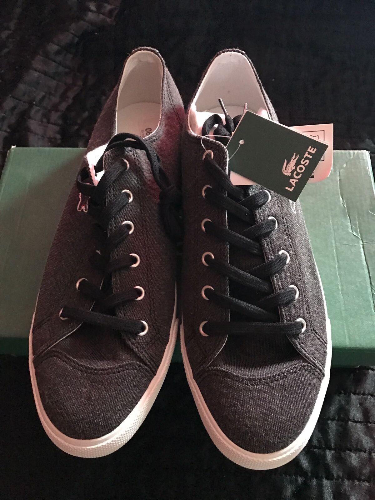 Authentic Lacoste L27 Canvas Canvas Canvas Sneakers c154b4