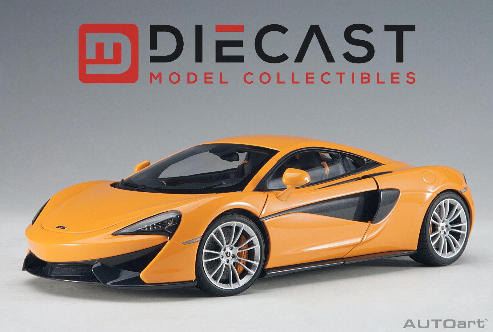 AUTOART 76044 McLaren 570 S (McLaren Orange Argent Roues) 1 18TH échelle