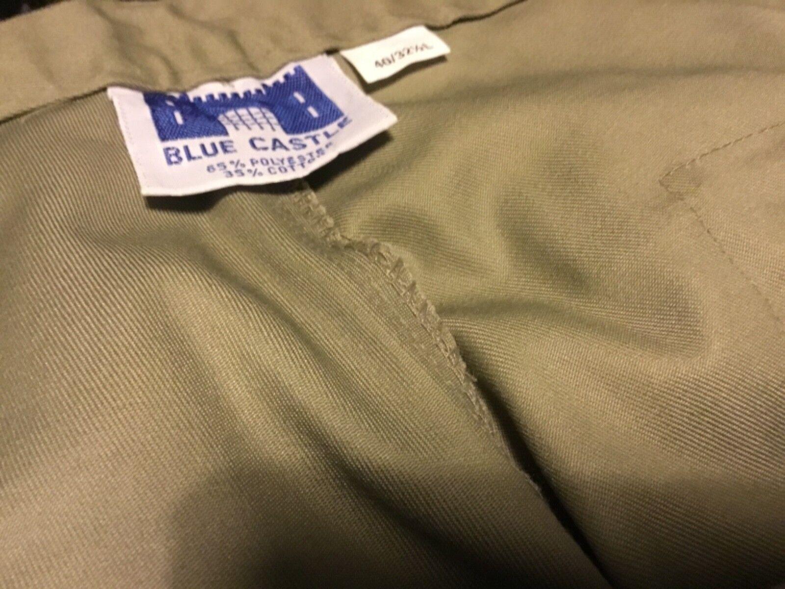 "Safari style bluee Castle Men's trousers 40"" waist"