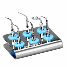 Dental Untrasonic Piezo Scaler Tip 6 Holder Blocks Fit Woodpecker Ems Dte Tips
