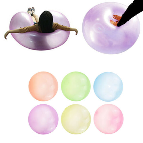 6pcs Bubble Ball Inflatable Balloon Stretch Balls Indoor Party Toys 50cm