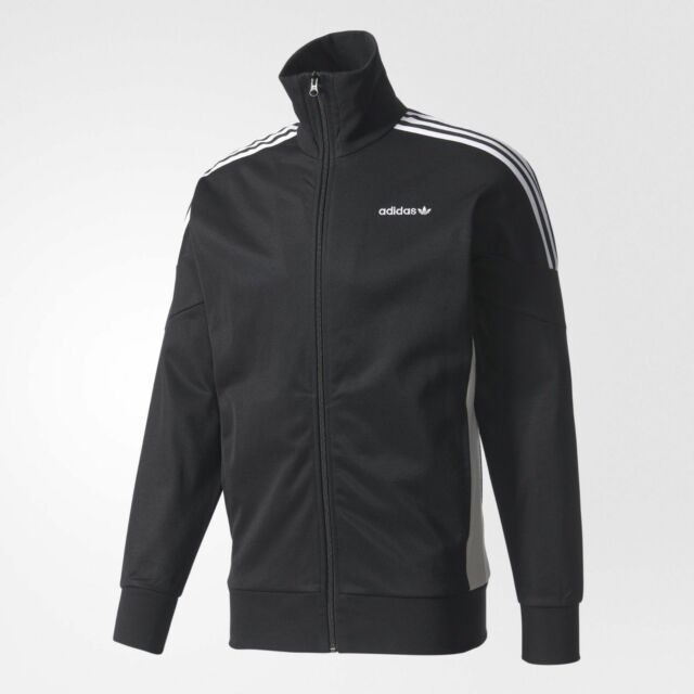 Adidas Originals Men's CLR84 Track Jacket (BlackWhite, BK5915)