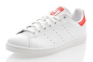 Turnschuhe Neu Weiss Smith Top Stan Sneaker Leder Schuhe Adidas Details Zu M20326 Herren rdxtQshC