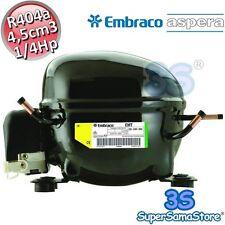3S MOTORE Compressore EMT2117GK FRIGOR gas R404A 1/4 Hp 4,5 cc cm Embraco Aspera