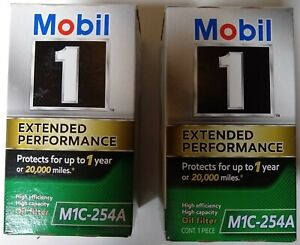Mobil 1 Oil Filter >> Details About Engine Oil Filter Mobil 1 M1c 254a Lot Of 2 Free Shipping