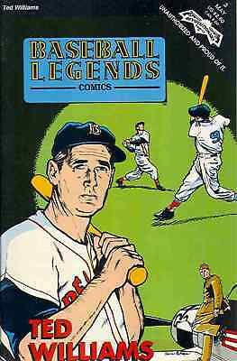 1992 *ted Williams* Sports Legends Comic Book Wholesale Lot (50) Free S&h