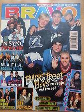 BRAVO 8/1997 BACKSTREET BOYS,Michael Jackson,Courtney Love,'N Sync,Kelly Family