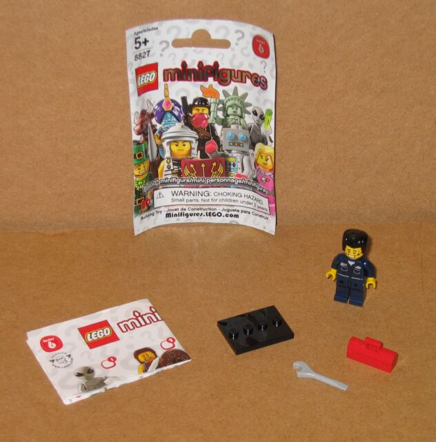 col06-15 NEW LEGO Mechanic Series 6 FROM SET 8827  COLLECTIBLES