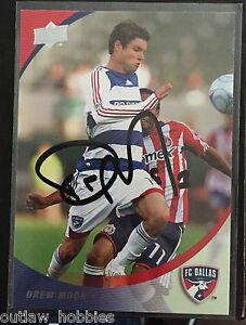 FC-Dallas-Drew-Moor-Autographed-2008-Upper-Deck-UD-MLS-Card