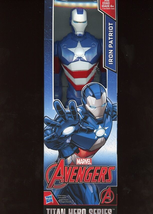 IRON PATRIOT (12 ) MARVEL AVENGERS ( 2016) TITAN HERO SERIES MOVIE ACTION FIGURE