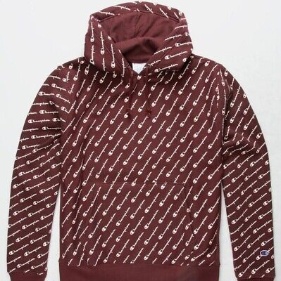 maroon champion hoodie