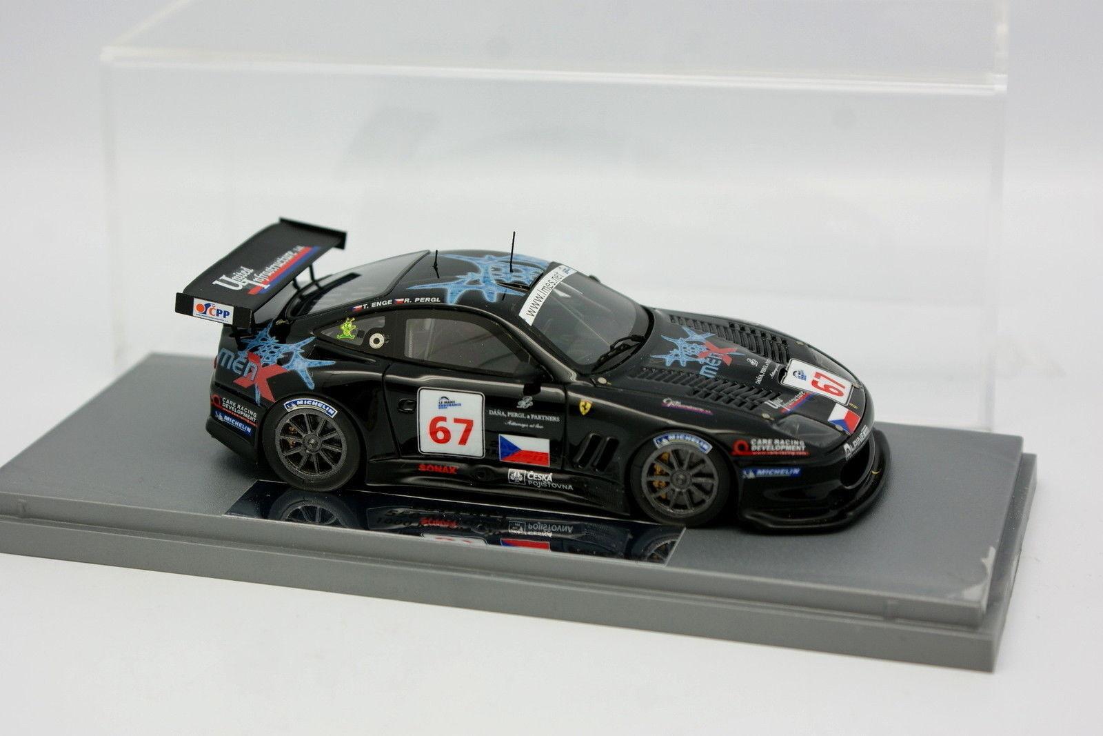 BBR Gasoline 1 43 - Ferrari 550 Maranello Spa 2005 N°67