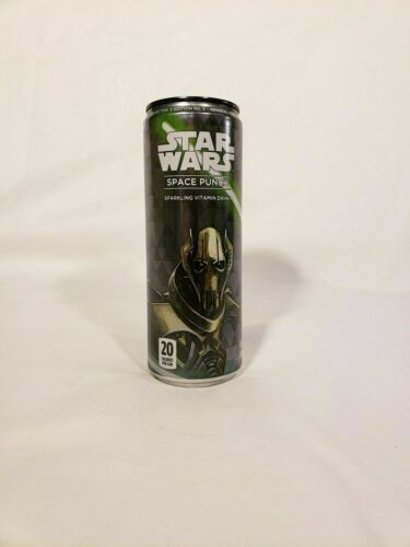 STAR WARS SPACE PUNCH COLLECTORS #5 GENERAL GRIEVOUS VITAMIN DRINKS DISNEY