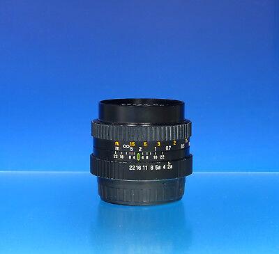 2019 Mode Objektiv Agfa Color Multi-coated 28mm F2.8 Ø49mm Lens Für Pentax K - (201488) Elegante Verschijning