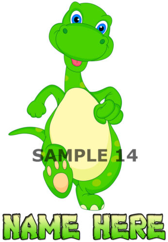 04-07 A Mignon Dinosaure Iron On Transfert Personnalisé Gratuit ref