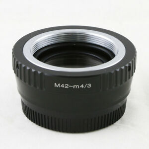 0-72x-Focal-Reducer-Speed-Booster-M42-mount-lens-to-Micro-4-3-Adapter-GF6-M43