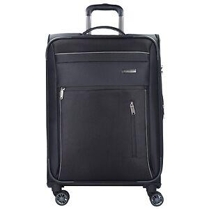 Travelite-Capri-L-4-Rollen-Trolley-Koffer-Reise-76-cm-schwarz
