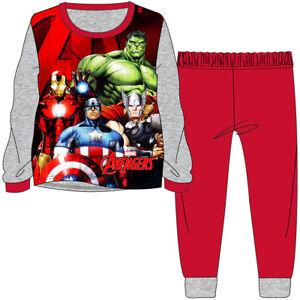 Boys Marvel Avangers Super Soft Fleece Pyjamas Age 9-10 Years Camping